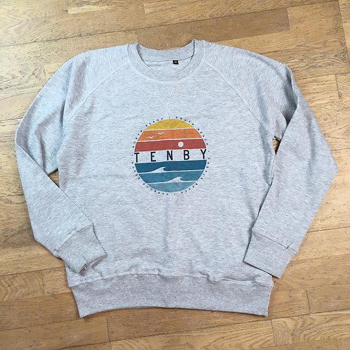 Tenby Circle Crew Neck Sweatshirt