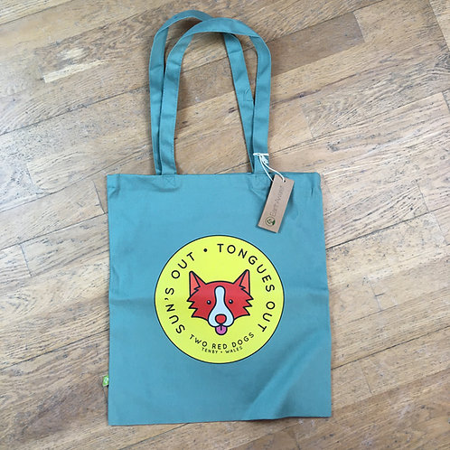 Sun's Out Tongues Out Tote Bag