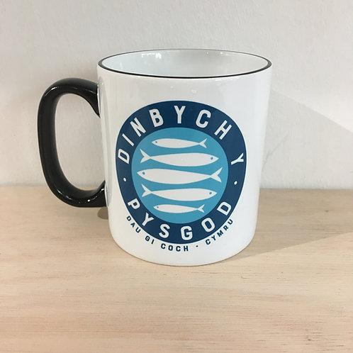Ceramic Mug - Dinbych Y Pysgod