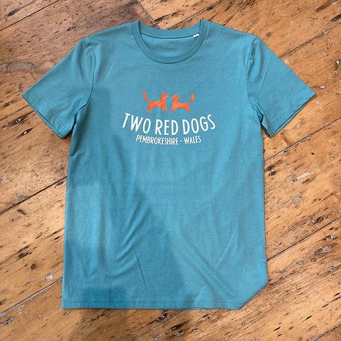 Two Red Dogs Logo Organic Tee