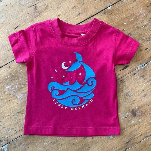 Baby/Toddler Tenby Mermaid Tee