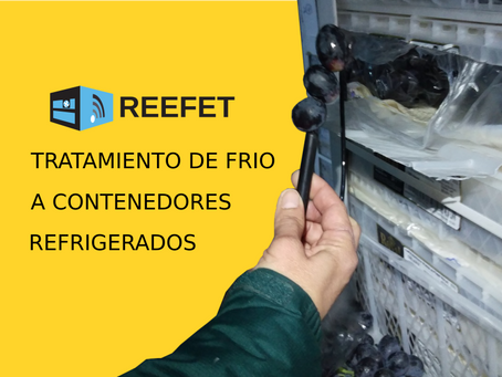 Tratamiento de frío para contenedores refrigerados / USDA