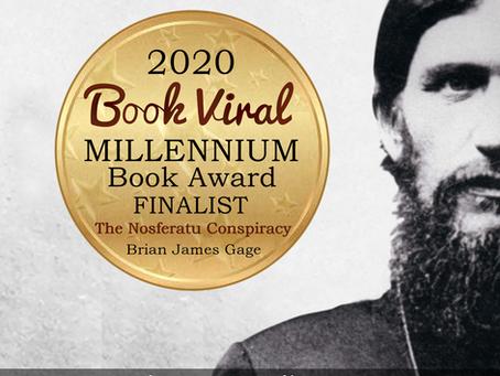 Millennium Book Awards Finalist!