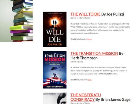 Indie Reader Best Books of April 2020 - The Nosferatu Conspiracy #1