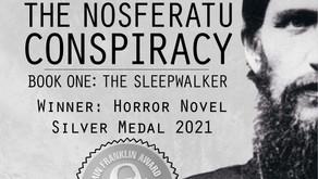 2021 Benjamin Franklin Award—Best Horror Novel—Silver Medal