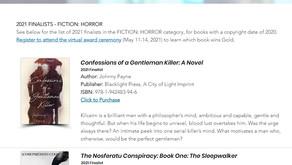 2021 IBPA Benjamin Franklin Award Finalist - Horror Novel