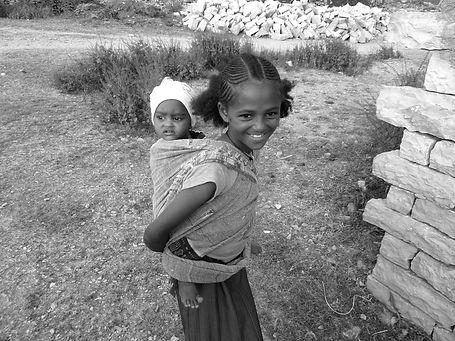 Niños y niñas África Derandein