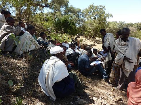 Cooperación al desarrollo África Derandein