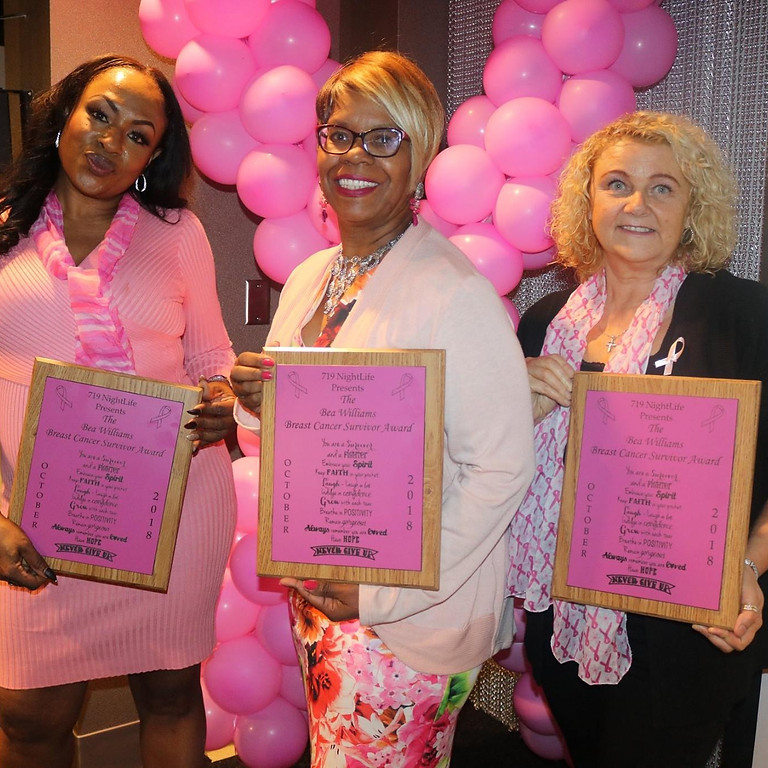 Think Pink Honors: Breast Cancer Awareness Celebration!