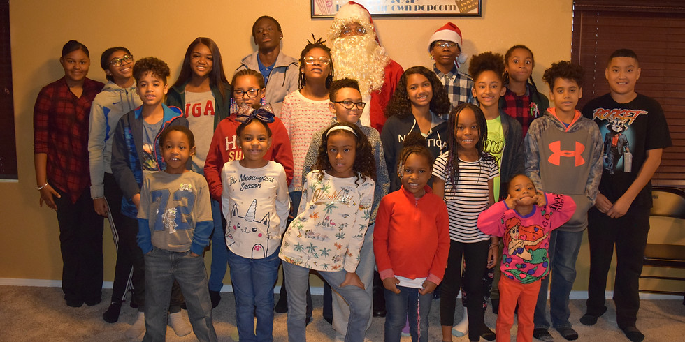 Black History Program Christmas Party