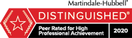distinguished peer rated for high professional achievement