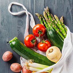 different-vegetables-in-textile-bag-on-g