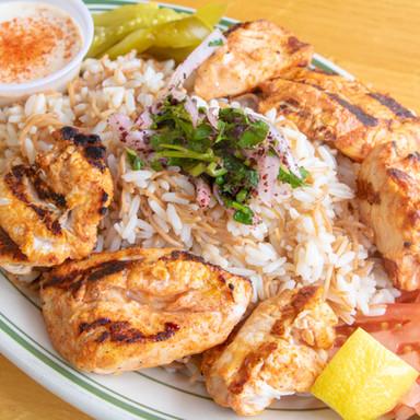 Shish Taouk Dish
