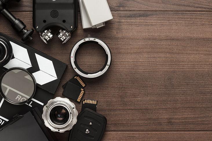different video equipment