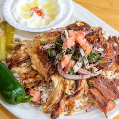 Shawarma Dish