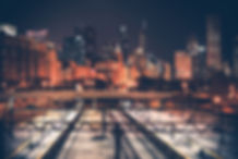 chicago-skyline-and-railroad-PC2QQ5P.jpg