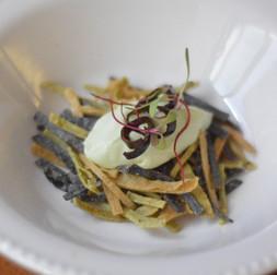 Guarnición para Sopa de Tortilla Tricolor