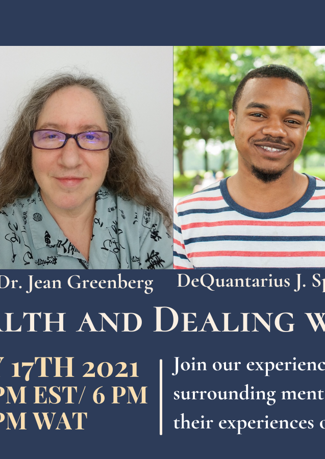 Mental Health and Dealing with Failure Event