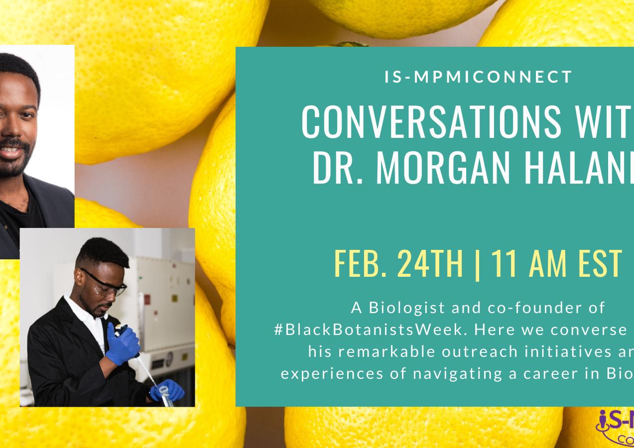 Conversations with Morgan Halane