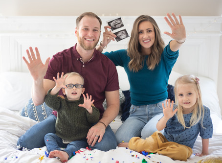 Party of Five! | Houghton Pregnancy Announcement