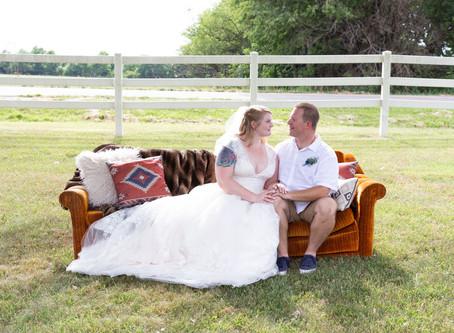 Intimate Outdoor Wedding | Missouri
