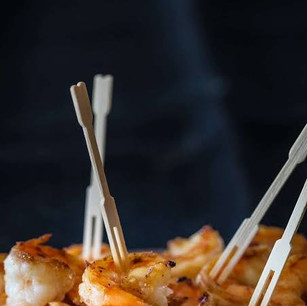 grill prawns