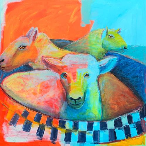 Rubadubdub, Three Sheep in a Tub