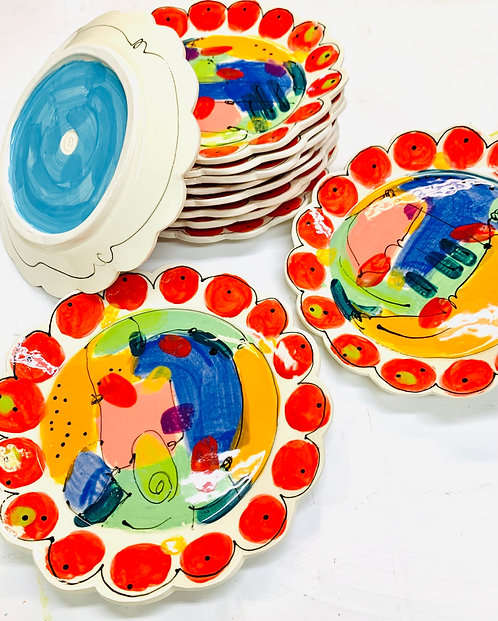 Whimsy Party Plates