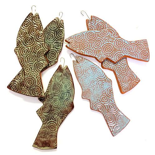 Ceramic Fish, Large
