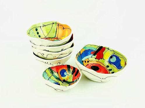 Medium Whimsy Bowls