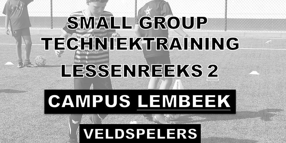 SMALL GROUP TECHNIEKTRAININGEN - CAMPUS LEMBEEK