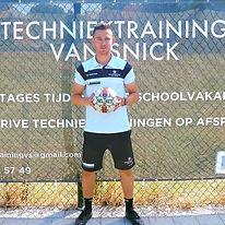 Techniektrainig Van Snick, Techniektrainer Van Snick, Brent Van Sick
