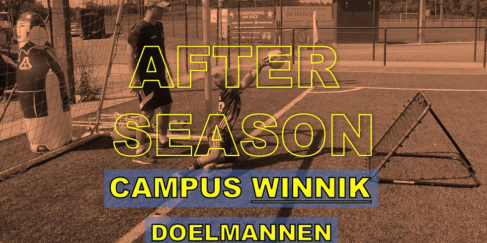 AFTER SEASON DOELMANNEN - CAMPUS WINNIK