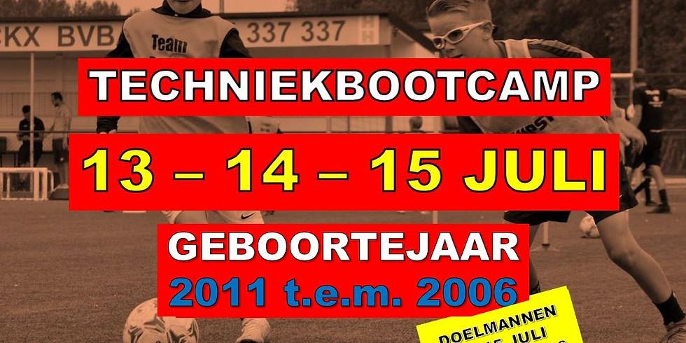 TECHNIEKBOOTCAMP 13-14-15 JULI 2021