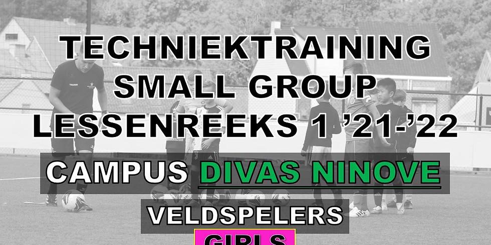 SMALL GROUP TECHNIEKTRAININGEN - CAMPUS DIVAS NINOVE