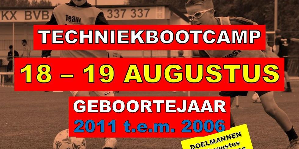 TECHNIEKBOOTCAMP 18 & 19 AUGUSTUS 2021