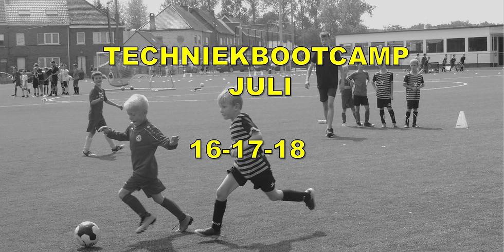 ZOMERSTAGE 16-17 & 18 JULI  – TECHNIEKBOOTCAMP (1)