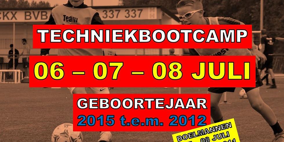 TECHNIEKBOOTCAMP 6-7-8 JULI 2021