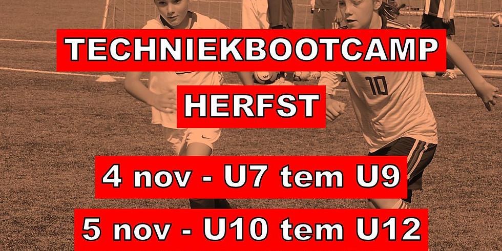 TECHNIEKBOOTCAMP 4 & 5 NOVEMBER 2020