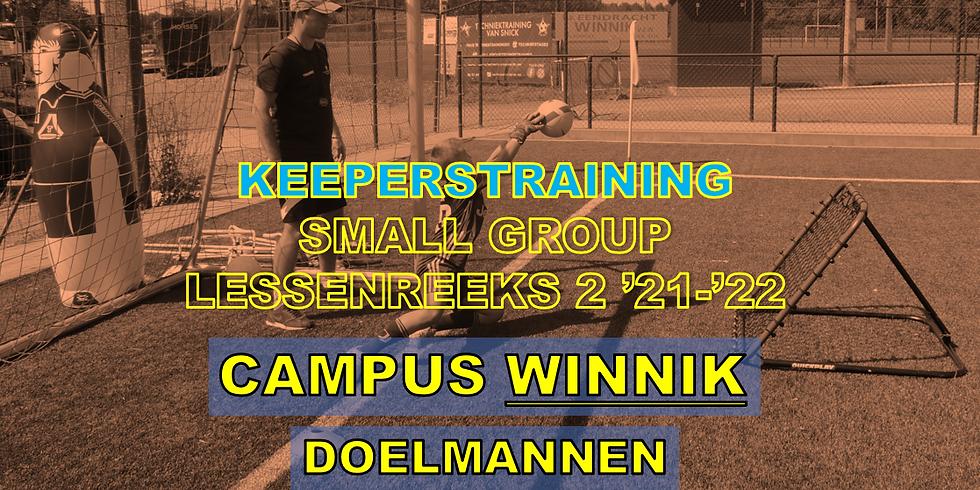 SMALL GROUP KEEPERSTRAININGEN - CAMPUS WINNIK