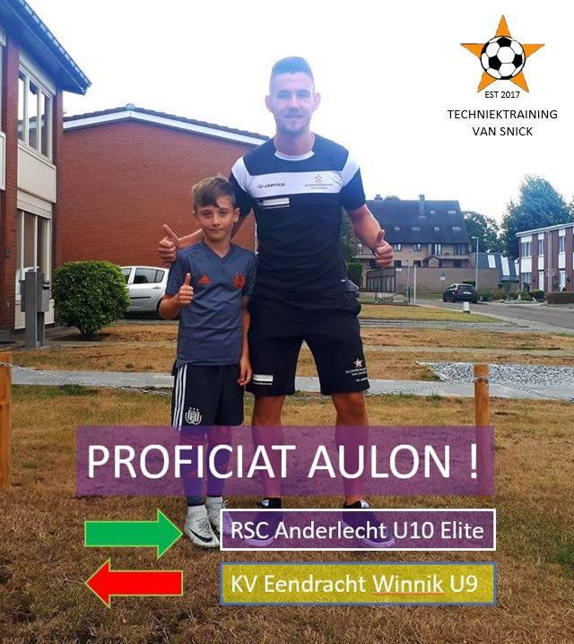 Aulon A. - U10 RSC Anderlecht Elite