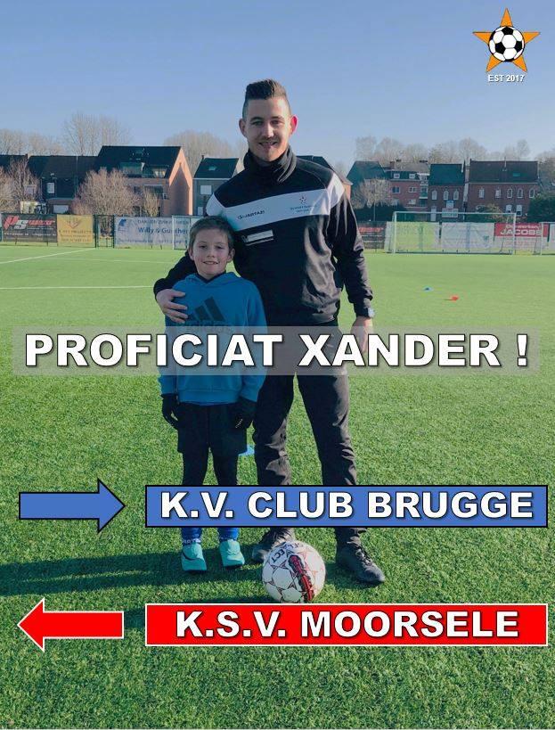 Xander - Club Brugge U9