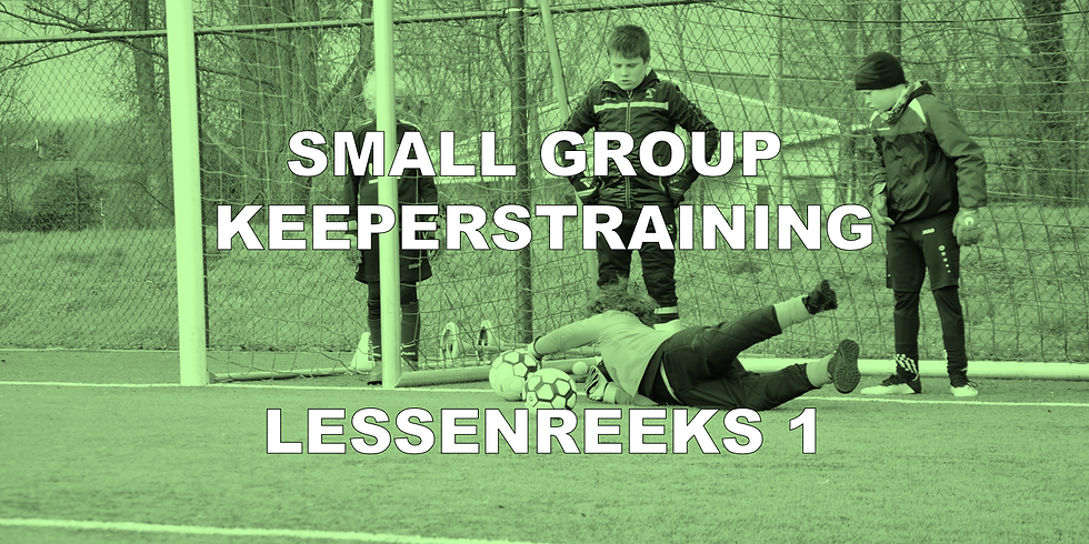 SMALL GROUP KEEPERTRAINING