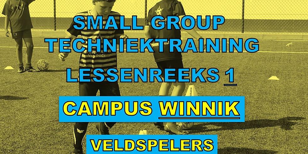 SMALL GROUP TECHNIEKTRAININGEN - CAMPUS WINNIK