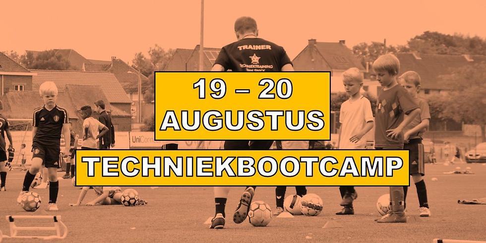 TECHNIEKBOOTCAMP 19 & 20 AUGUSTUS 2020