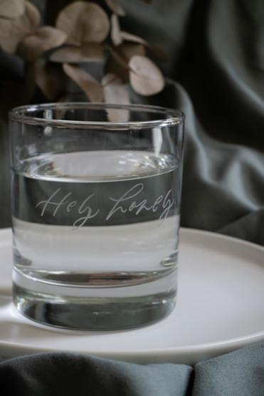 Lara Engraved Glass