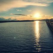 Ogden Point Sunset