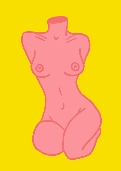 IDEAL WOMAN A4 yellow and pink.jpg