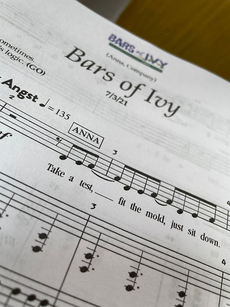 Bars of Ivy Sheet Music Picture.jpg