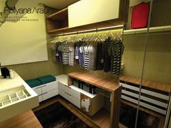 projeto de interior closet